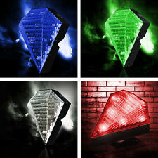 5x(CF Bicycle 8 LED 2 Laser Beam Tail Light Rear Warning Lamp 3Modes 2Colors)