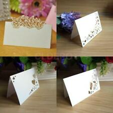 50 Table Place Name Setting Meal Cards Wedding Day Party Birthday Dinner Event