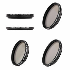 49/82mm Slim Fader Variable ND Filter Adjustable Neutral Density ND2 to ND400 WS