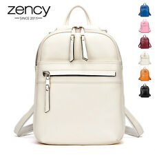 6Cls NEW Fashion Genuine Leather Ladies Backpack Girl Schoolbag Shoulder Handbag