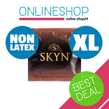 SKYN LARGE KING SIZE XL NON LATEX CONDOMS Polyisoprene Lifestyles Mates 1 - 144