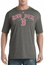 Boston Red Sox MLB Mens Majestic Last Rally Shirt Charcoal Big & Tall Sizes