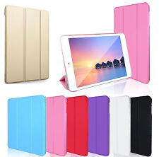Smart Magnetic Cover Leather Back Case for Apple iPad 6,IPad 5,IPad Mini 4,Pro