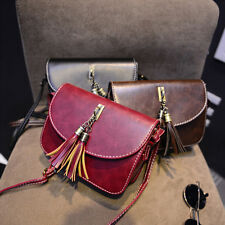 Women Crossbody Handbag Purse PU Leather Satchel Shoulder Bag Messenger Hobo