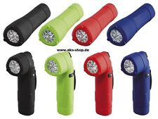 LED flashlight Angle flashlight Torch various colours new