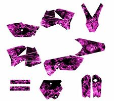 KTM SX 85 SX105 graphics decal kit for  2006 - 2012 #9700 Zombie Girl Hot Pink
