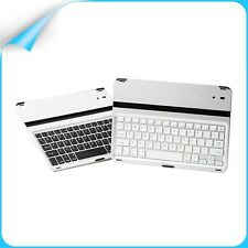 For Apple iPad 5 iPad Air Wireless Bluetooth Keyboard Stand Dock Aluminum Cover