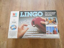 1981 MB GAMES LINGO WORD GAME