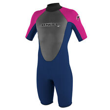 ONeill Youth Reactor 2MM Shorty Wetsuit Navy Oneill Surfing Wetsuits