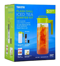 Takeya Flash Chill Iced Tea Starter Kit NEW FACTORY SEALED KIT