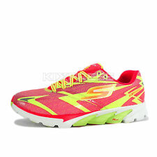 Skechers Go Run 4 Nite Owl Series [13850HPLM] Running Hot Pink/Lime