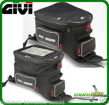 GIVI Enduro Motorcycle Road Bike Tank Bag with Harness Expandable Universal Fit