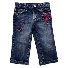 GUESS Boutique Girls Sz 12M & 18M Embroidered Jeans - NWT RRP $64.95