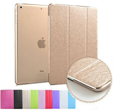 Smart Stand Magnetic Leather Case Back Cover for iPad 4 3 2 Mini Air Pro 12.9""