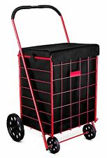 Grocery Folding Shopping Cart Liner Attaches Easily To Cart