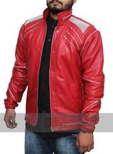 Sale on Red Michael Jackson Beat It Synthetic Leather Jacket