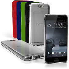 Glossy TPU Gel Case for HTC One A9 (2015) Gel Skin Soft Cover + Screen Protector