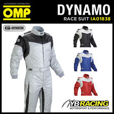 SALE! IA01838 OMP DYNAMO RACE RALLY SUIT LIGHT NOMEX FIREPROOF FIA 8856-2000