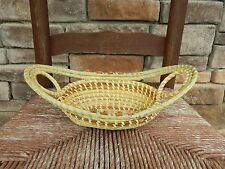Sweetgrass Gullah Bread Basket with Love Knots