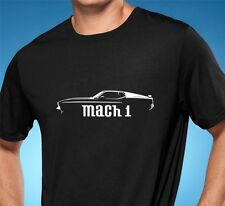 1971-72 Ford Mustang Mach 1 Muscle Car Tshirt NEW FREE SHIPPING