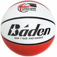 Baden England Rubber Basketball DX BR437 - Precision-Wound EB Logo - 3 Sizes