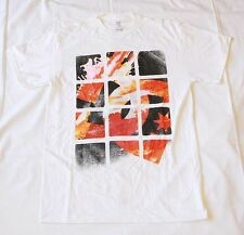 NEW DC Shoes T Shirt (Tee) 100% Authentic White-  DC Star Colorful Logo
