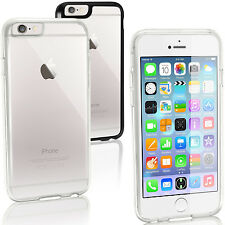 Hybrid Slim TPU & PC Back Case Cover for Apple iPhone 6 & 6S 4.7 Gel Skin Bumper
