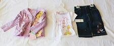 NWT Disney Fairies Tinkerbell 3pcs Capri Set for Toddlers- Good for Rainy Days