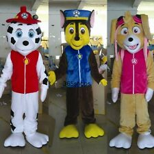 Hot Patrol Marshall Dog Mascot Costume Adult Size Party Fancy Dress