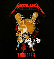 Music Tee METALLICA -  DAMAGE INC TOUR 1986