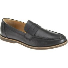 NEW Mens SEBAGO Black Horween Bison Leather NORWICH PENNY Loafers Shoes B810329