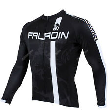 Men Long Sleeve Cycling Jersey Bicycle Bike Rider Sportwear Apparel CX12s