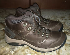NEW Womens Sz 10 NEW BALANCE 978 Dark Brown Leather Gore Tex Walking Shoes Boots