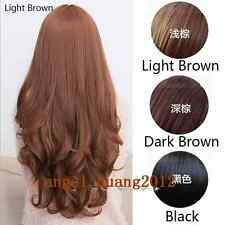 New Women Wigs Sexy Long Wavy Curly Hair Cosplay Costume Party Fashion Full Wig