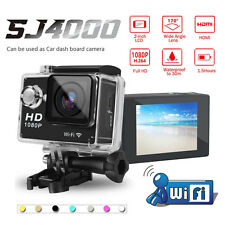 SJ4000 WIFI 1080P HD Sports DV Action Camera Camcorder Helmet Bike Cam For GoPro