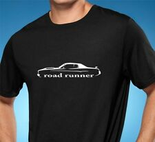 1973 1974 Plymouth Roadrunner Classic Muscle Car Tshirt NEW FREE SHIPPING