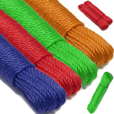 2X Heavy Duty Multi Purpose Nylon Rope Tarpaulin Garden Garage Outdoors 20M X 6M