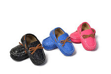Baby bowknot Faux Leather shoes soft Fabric sole crib shoes Age 0--18 months