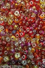 Upto 100 x mixed beads charms   fit all european bracelets