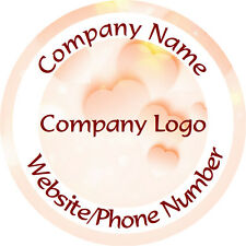 Personalised Business Name Stickers Thank You Seals Your Logo Labels - L1100