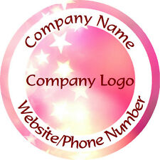 Personalised Business Name Stickers Thank You Seals Your Logo Labels - L1096