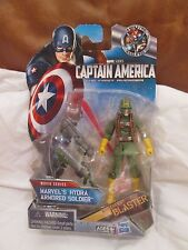 """HYDRA Armored Soldier 3.75"""" VARIANT Figure New On-Card Captain America Marvel"""