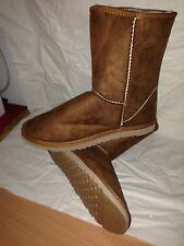 Ladies Short Ugg Boots Chestnut Sizes 6 to 10