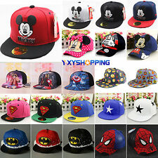 Children Baby Cartoon Peaked Baseball Cap Snapback Kids Boy Girl Hip-hop Sun Hat