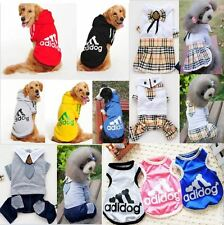 New Fashion Various Pet Clothing Coat Puppy Small Dog Cat Vest T Shirt Apparel