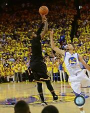 Cleveland Cavaliers Kyrie Irving NBA Finals Game Winning 3 Over Curry Photo