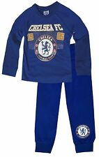 Boys Arsenal Chelsea MUFC Football Club Pyjamas Boys Long Sleeve PJS Age 2-12 Yr