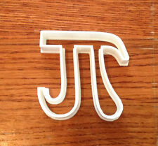 Pi Symbol (π) cookie and fondant cutter - US SELLER!!