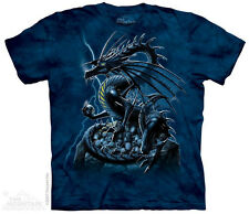 Skull Dragon The Mountain Adult Size T-Shirt