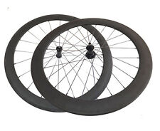 Only 1470g 700C 50+60mm Clincher Straight Pull Carbon Wheels Road Bike Wheelset